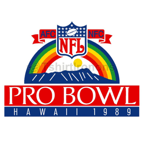 Pro Bowl T-shirts Iron On Transfers N711