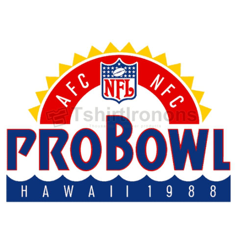 Pro Bowl T-shirts Iron On Transfers N712
