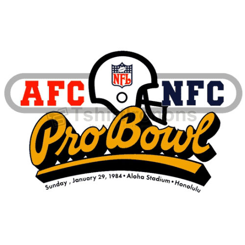 Pro Bowl T-shirts Iron On Transfers N716