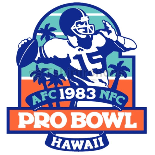 Pro Bowl T-shirts Iron On Transfers N717