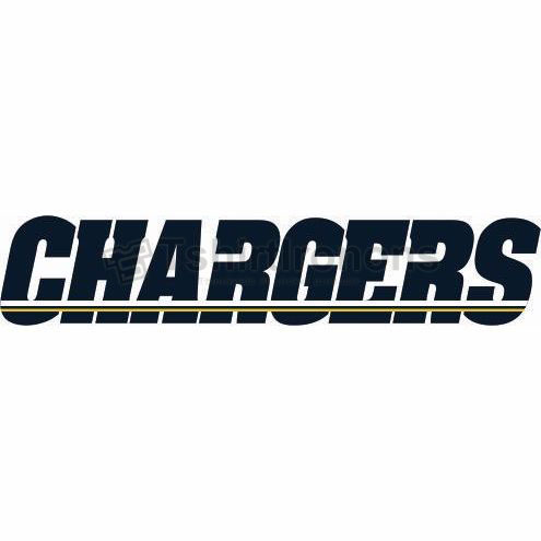 San Diego Chargers T-shirts Iron On Transfers N723