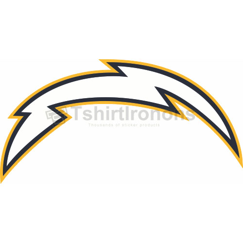 San Diego Chargers T-shirts Iron On Transfers N725