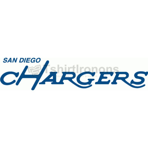 San Diego Chargers T-shirts Iron On Transfers N728