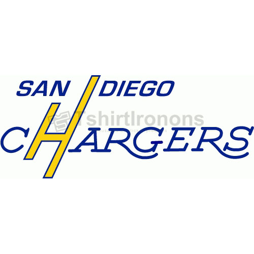 San Diego Chargers T-shirts Iron On Transfers N729