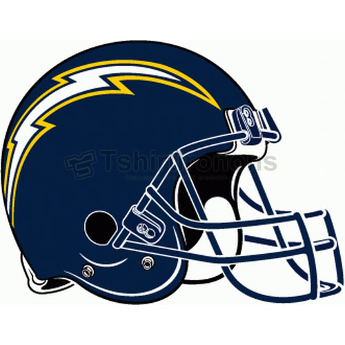 San Diego Chargers T-shirts Iron On Transfers N730