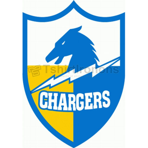 San Diego Chargers T-shirts Iron On Transfers N733