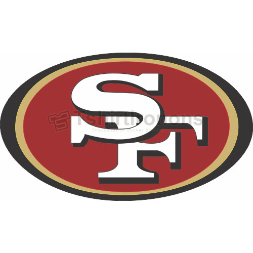 San Francisco 49ers T-shirts Iron On Transfers N745
