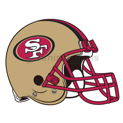 San Francisco 49ers T-shirts Iron On Transfers N748