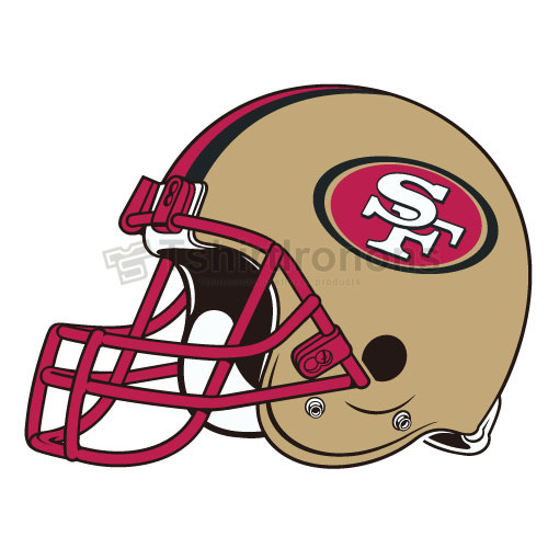 San Francisco 49ers T-shirts Iron On Transfers N749