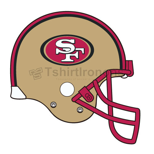 San Francisco 49ers T-shirts Iron On Transfers N750