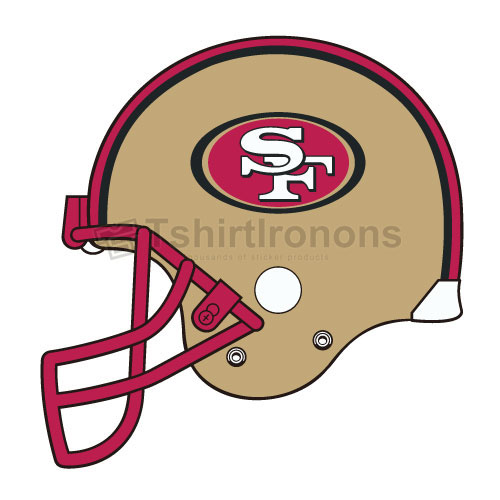 San Francisco 49ers T-shirts Iron On Transfers N751
