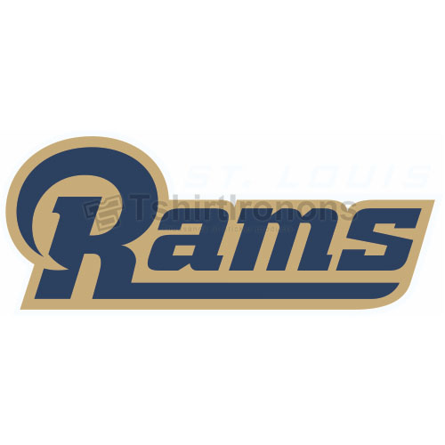 St. Louis Rams T-shirts Iron On Transfers N761