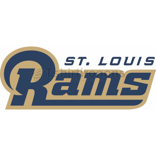 St. Louis Rams T-shirts Iron On Transfers N762
