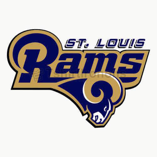 St. Louis Rams T-shirts Iron On Transfers N767