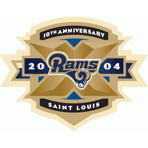 St. Louis Rams T-shirts Iron On Transfers N768