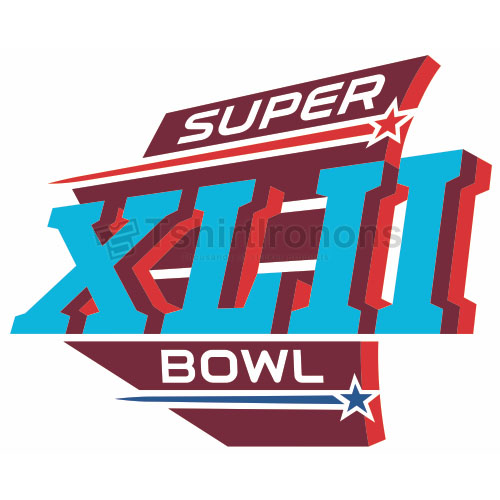 Super Bowl T-shirts Iron On Transfers N780