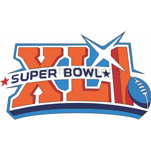 Super Bowl T-shirts Iron On Transfers N781