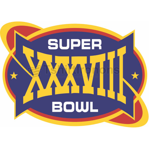 Super Bowl T-shirts Iron On Transfers N784