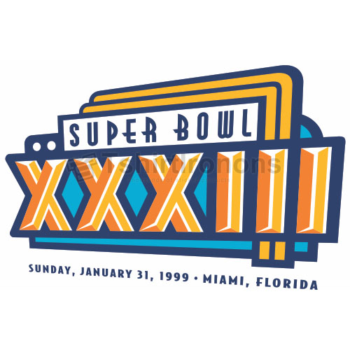 Super Bowl T-shirts Iron On Transfers N788