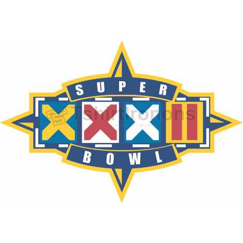 Super Bowl T-shirts Iron On Transfers N789