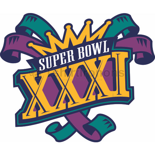 Super Bowl T-shirts Iron On Transfers N790