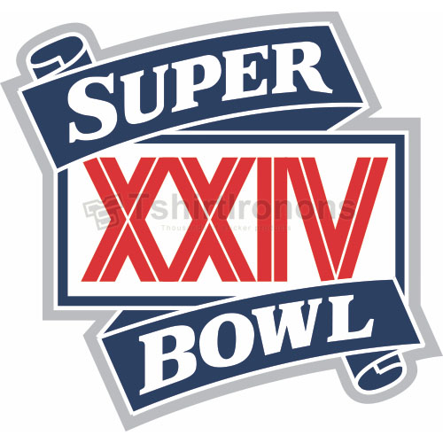 Super Bowl T-shirts Iron On Transfers N797