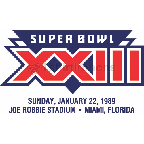 Super Bowl T-shirts Iron On Transfers N798