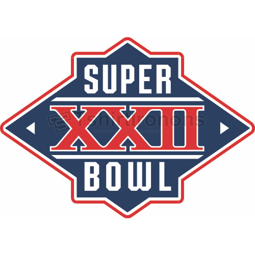 Super Bowl T-shirts Iron On Transfers N799