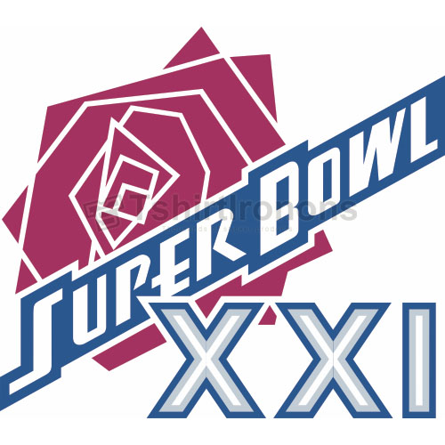 Super Bowl T-shirts Iron On Transfers N800