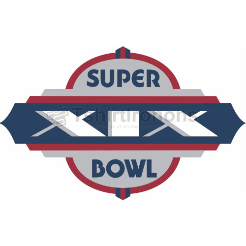 Super Bowl T-shirts Iron On Transfers N802