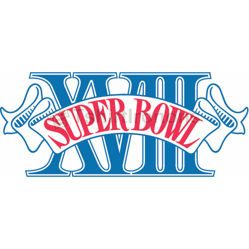 Super Bowl T-shirts Iron On Transfers N803