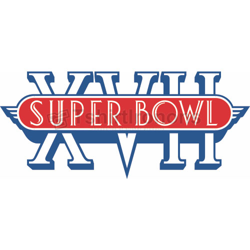 Super Bowl T-shirts Iron On Transfers N804