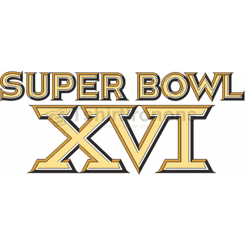 Super Bowl T-shirts Iron On Transfers N805