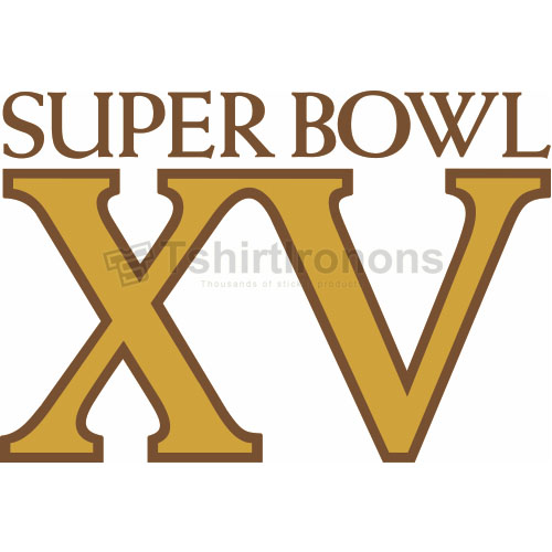 Super Bowl T-shirts Iron On Transfers N806