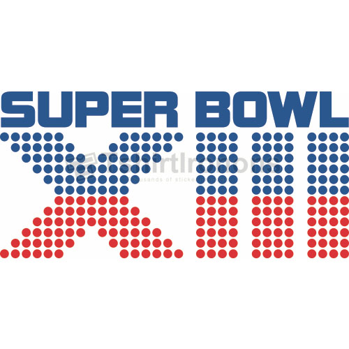 Super Bowl T-shirts Iron On Transfers N808