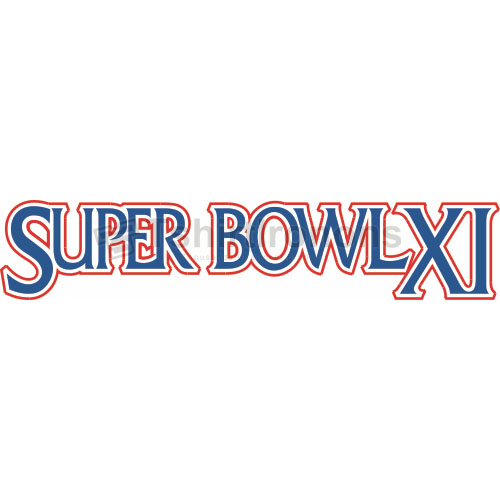 Super Bowl T-shirts Iron On Transfers N810
