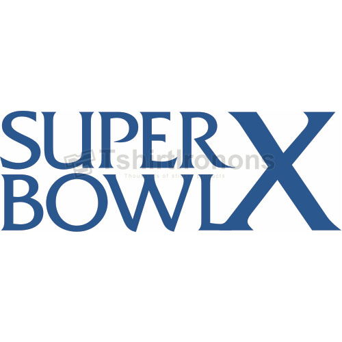 Super Bowl T-shirts Iron On Transfers N811