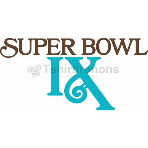 Super Bowl T-shirts Iron On Transfers N812