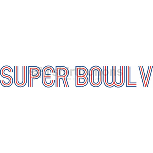 Super Bowl T-shirts Iron On Transfers N816