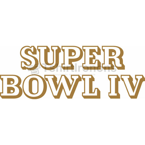 Super Bowl T-shirts Iron On Transfers N817