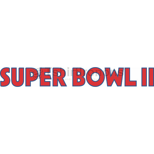 Super Bowl T-shirts Iron On Transfers N819