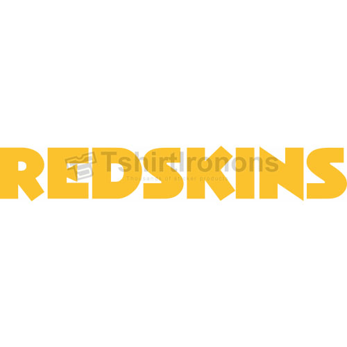 Washington Redskins T-shirts Iron On Transfers N842