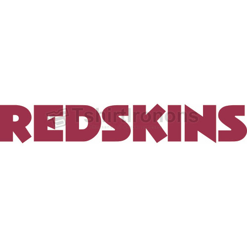Washington Redskins T-shirts Iron On Transfers N843