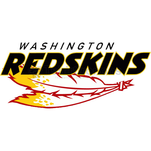 Washington Redskins T-shirts Iron On Transfers N848