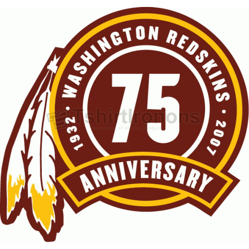 Washington Redskins T-shirts Iron On Transfers N851