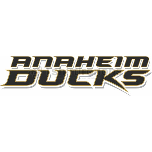 Anaheim Ducks T-shirts Iron On Transfers N50