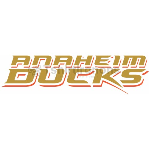 Anaheim Ducks T-shirts Iron On Transfers N51