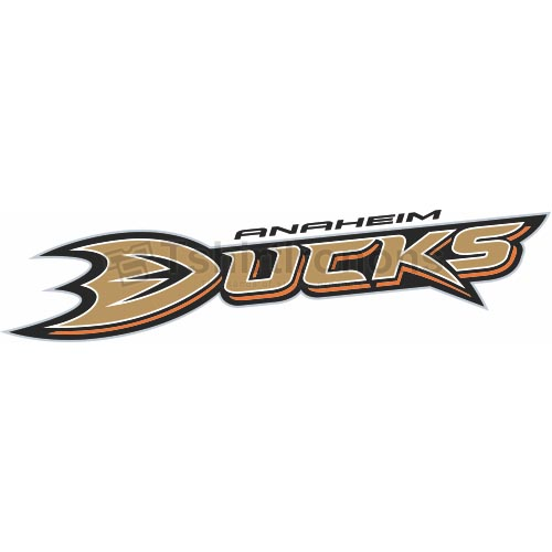 Anaheim Ducks T-shirts Iron On Transfers N52