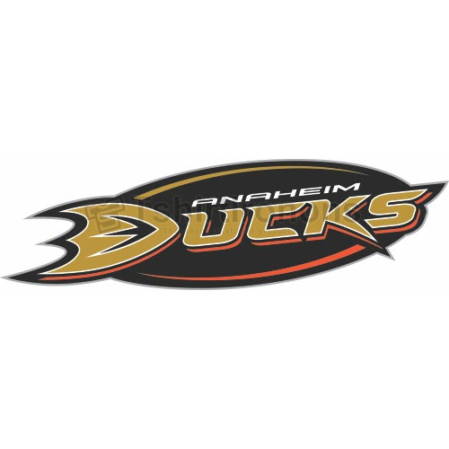 Anaheim Ducks T-shirts Iron On Transfers N56