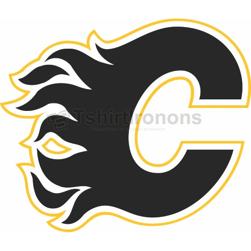 Calgary Flames T-shirts Iron On Transfers N99